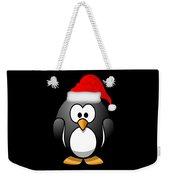 Christmas Santa Penguin Weekender Tote Bag