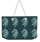 Christmas Tree Pattern Weekender Tote Bag