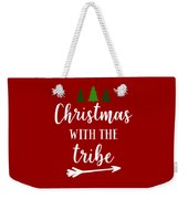 Christmas With The Tribe Weekender Tote Bag