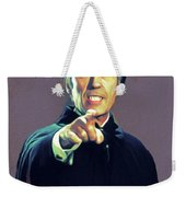 Christopher Lee As Dracula Weekender Tote Bag