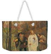 Christus Und Die J Nger Von Emmaus 1914 Weekender Tote Bag