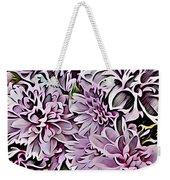 Chrysanthemum Abstract. Weekender Tote Bag
