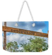 Chuckwagon Cookoff Weekender Tote Bag