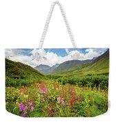 Chugach Midsummer Weekender Tote Bag by Tim Newton