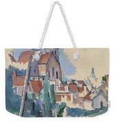 Church At Montigny Sur Loing, 1898  Weekender Tote Bag