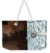 Church Door Tremouille Auvergne Francd Weekender Tote Bag