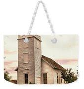 Church In Bowman North Dakota Weekender Tote Bag