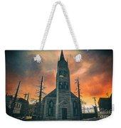 Church Of Days Past Weekender Tote Bag