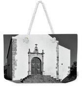 Church Of Misericordia In Monochrome Weekender Tote Bag
