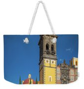 Church Of San Francisco In Puebla Weekender Tote Bag