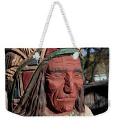Cigar Store Indian  Weekender Tote Bag