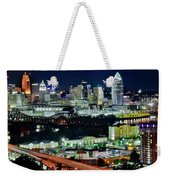 Cinci The Queen City Weekender Tote Bag