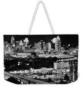 Cincinnati Covington And Ohio River Weekender Tote Bag