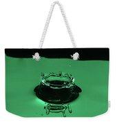 Circle Water Dance Green Weekender Tote Bag