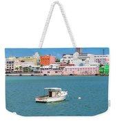 City Of Hamilton Bermuda Weekender Tote Bag