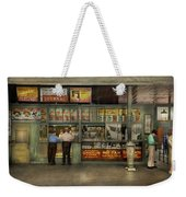 City - Oklahoma Ok - A Magazine For The Ride Home 1939 Weekender Tote Bag