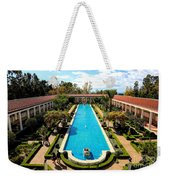 Classic Awesome J Paul Getty Architectural View Villa  Weekender Tote Bag