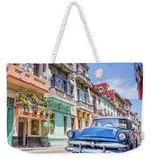 Classic Car Havana 8x10 Weekender Tote Bag