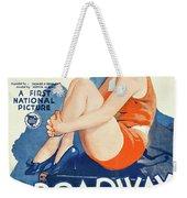 Classic Movie Poster - Broadway Babies Weekender Tote Bag