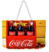 Classic Six Pack Of Cokes Weekender Tote Bag