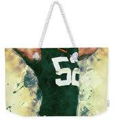 Clay Matthews Weekender Tote Bag