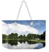 Clear Reflection Weekender Tote Bag