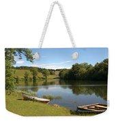 Clerklands Loch, Near Selkirk, Scottish Borders Weekender Tote Bag