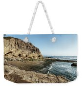 Cliff In The Ocean Weekender Tote Bag