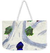 Climbing To The Top Of The Hill Weekender Tote Bag
