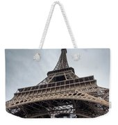 Close Up View Of The Eiffel Tower From Underneath  Weekender Tote Bag