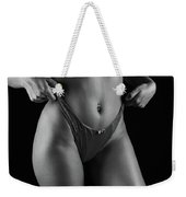 Closeup Of Sexy Woman Body Weekender Tote Bag