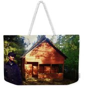 Closing The Cabin For Winter Weekender Tote Bag