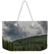 Cloud Topped Aspens Weekender Tote Bag