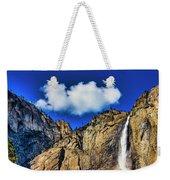 Clouds Abover Upper Yosemite Fall Weekender Tote Bag