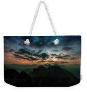 Clouds Over Mountains Weekender Tote Bag