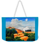 Clouds Over Windy Hill Weekender Tote Bag