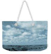 Cloudy Prairie Reverie Weekender Tote Bag