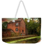 Coalport Bottle Kiln Sunset Weekender Tote Bag