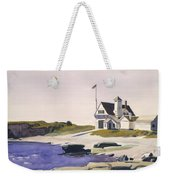 Coast Guard Station  Two Lights  Maine  Weekender Tote Bag