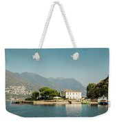 Coast Of Como Weekender Tote Bag