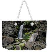 Coastal Falls Weekender Tote Bag by Margaret Pitcher