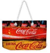 Coca Cola Crates Weekender Tote Bag