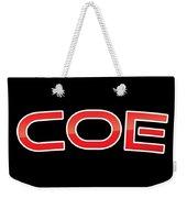 Coe Weekender Tote Bag