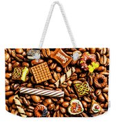 Coffee Candy Weekender Tote Bag