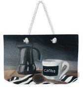 Coffee Time Weekender Tote Bag