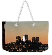 Coit Tower Twilight Weekender Tote Bag