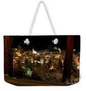 Cold Winter Night Weekender Tote Bag