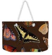 Collage Of Ca Butterflies Weekender Tote Bag