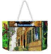 Collectible Dreaming Savannah Book Poster Weekender Tote Bag
