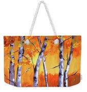 Color Forest Landscape Weekender Tote Bag